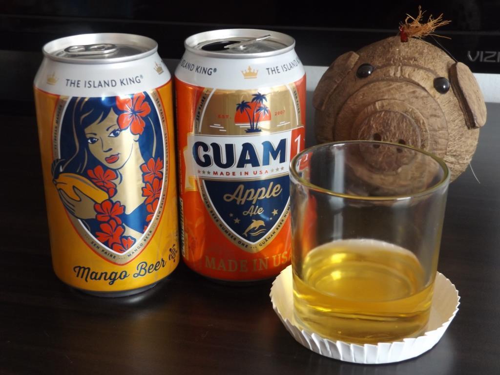 マンゴーフレーバーのビール
